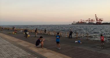 広い釣り場。